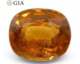 2.23ct Vivid Fanta Orange Spessartine/Spessartite Garnet Cushion  GIA Certi