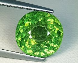 6.40 ct AAA Quality Gem Beautiful Oval Cut Natural Green Apatite