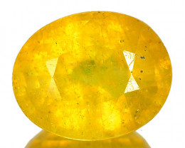 1.87 Cts Rare Fancy Yellow Sapphire Natural Gemstone