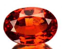 0.88 Cts Rare Red Spessartite Garnet Natural Gemstone