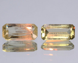 1.00 Cts Paired Rare Color Changing Diaspore Natural Gemstone