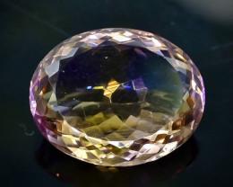 14.80 Crt  Ametrine Faceted Gemstone (Rk-1)
