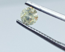 0.45ct  Fancy Yellow Diamond , 100% Natural Untreated