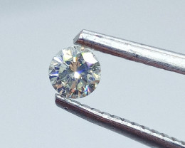0.23ct  Light Yellow Diamond , 100% Natural Untreated