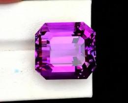 34 Carats Top Grade Natural Amethyst Fancy Cut Gemstone