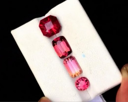 8.80 Carats Mix Cut Natural Tourmaline Gemstones