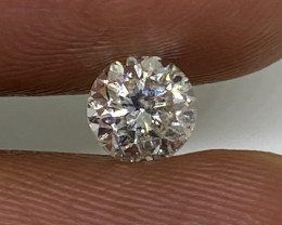 (1) Certified $1788 Stunning 0.70cts SI1 Nat White Round Loose Diamond