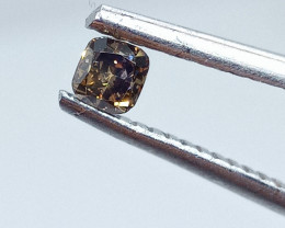 0.20ct  Fancy  Brown Diamond , 100% Natural Untreated