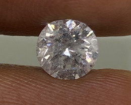 (5) Certified $5881 Precious 1.23cts SI2 Nat  White Round Loose Diamond