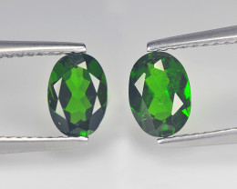 Alluring  Chrome Diopside 1.54 Cts Green Step cut BGC748