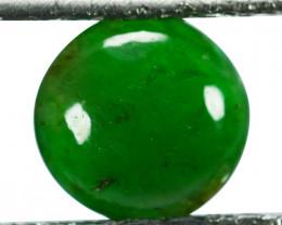 ~UNTREATED~ 1.51 Cts Natural Green Jade Cabochon Burmese