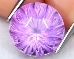 Amethyst 7.00Ct VVS Designer Master Cut Natural Purple Amethyst AT1196