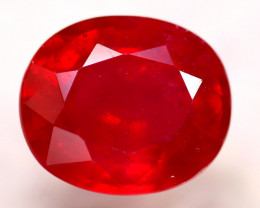 Ruby 7.18Ct Madagascar Blood Red Ruby D0310/A20