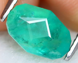 Zambian Emerald 1.31Ct Master Cut Natural Green Color Emerald AT1198