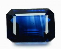 2.19 Cts Amazin g Rare Royal Blue Color Natural Kyanite Gemstone