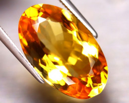 Citrine 9.60Ct Natural Golden Yellow Color Citrine DF0318/A2