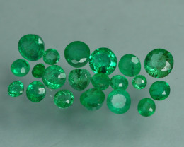 1.435 CRT 20 PCS STUNNING PARCEL COLOMBIAN EMERALD-