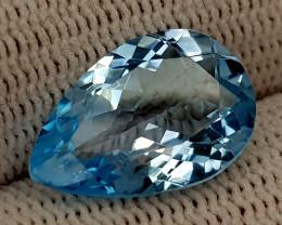 6.42CT BLUE TOPAZ BEST QUALITY GEMSTONE IIGC029