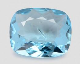 *NoReserve*Aquamarine 2.24 Cts Santa Maria Blue  Natural Gemstone
