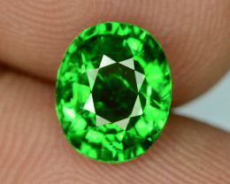 IGA Certified Top Quality 2.060 ct Green Tsavorite Garnet