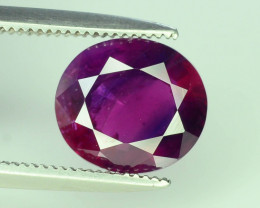AIG Certified Burma Ruby 2.19 ct Unheated & Untreated