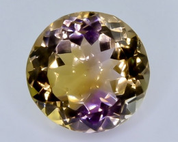 12.90 Crt Natural Ametrine Faceted Gemstone.( AB 19)