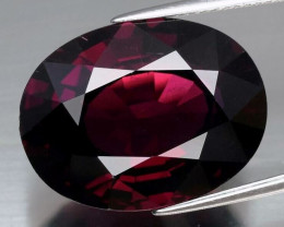 Huge! 22.93 ct   Natural Earth Mined Pinkish Purple Rhodolite Garnet