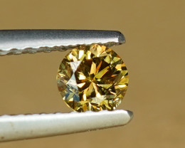 .30CT NATURAL FANCY VVS DIAMOND with EXCELLENT BRILLIANCE $1NR!