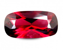 Marvelous 2.104 Cts Cylon SPINEL Red Cushion Antique Step Cut BGC456
