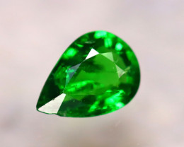 Tsavorite 0.70Ct Natural Intense Vivid Green Color Tsavorite Garnet E0414