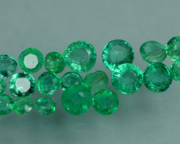 1.150 CRT 20 PCS STUNNING PARCEL COLOMBIAN EMERALD-