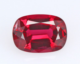 Burmese red spinel, eye clean, rare, excellent cut.  #SN146-11