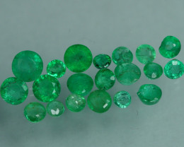 1.185 CRT 20 PCS STUNNING PARCEL COLOMBIAN EMERALD-