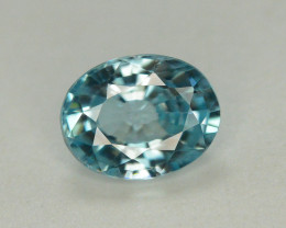 Top Blue ~2.50 Ct Natural Zircon From Cambodia