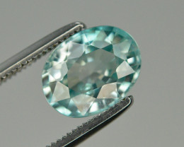 Top Blue ~2.90 Ct Natural Zircon From Cambodia