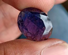 Natural iolite Big Size Faceted Gemstone VA4689
