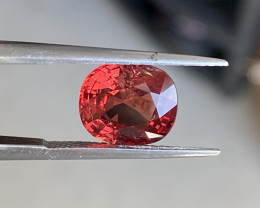 3.7ct brilliant red spinel