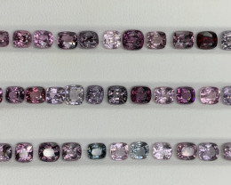 32.78 CT Spinel Gemstones top color and luster /40 pc