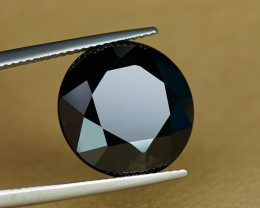HUGE 14.09CT SPINEL with JET BLACK COLOR & BRILLIANT POLISH