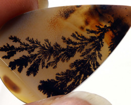 11.20 CTS AGATE DENDRITIC NICE PATTERNS   SG- 480