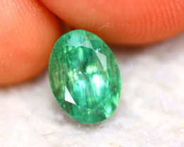Emerald 1.24Ct Natural Colombia Green Emerald D0513/A38
