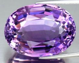 24.18 ct. Top Quality  Natural Earth Mined Unheated Purple Amethyst, Urugua
