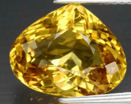 Amazing! 5.19 ct Natural Earth Mined Yellow Beryl, Madagascar