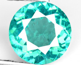 1.30 Cts Un Heated Natural Green Apatite Loose Gemstone