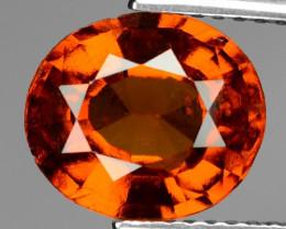 2.97 Cts Untreated Orange Color Natural Hessonite Garnet Gemstone