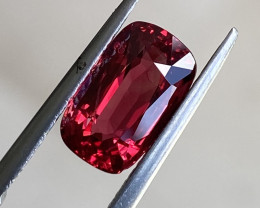 2.5ct Fine quality VVS Red Spinel