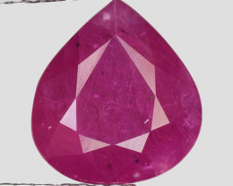 3.28 Ct Red Ruby Awesome Color ~ Mozambique RB1