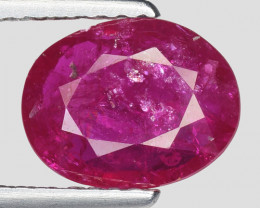 1.44 Ct Red Ruby Awesome Color ~ Mozambique RB15