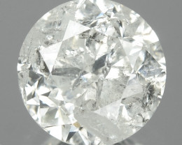 1.08 Cts Untreated Fancy White Color Natural Loose Diamond