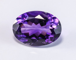 11.52ct Lab Certified Natural Amethyst